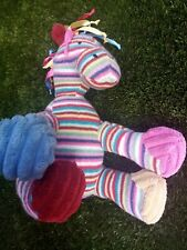 Jellycat maypole pony Stripe Rainbow horse musical pull excellent condition