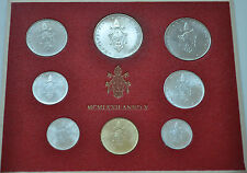 1972 Vatican City Paul VI (X Year) Coin Set - Unc