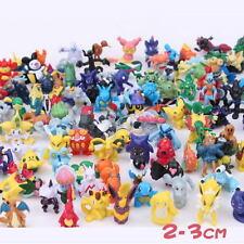 New 24pcs Lovely Pokemon Pikachu Monster Mini Pearl 2-3cm Figure Toy Popular