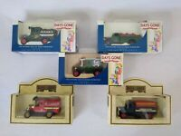 Lledo Days Gone Collection of 5 Petroleum Motor Oil Fuel Petrol Tanker Vehicles