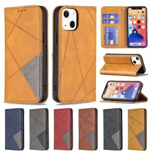 For iPhone 13 12 Pro Max 11 8/7 Xr Magnetic Flip Leather Wallet Case Cards Cover