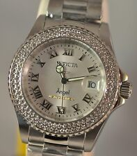 New Women's Invicta Cruiseline Angel Swiss Silver Dial Stainless Steel Watch