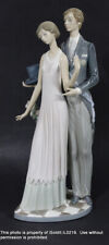 Lladro Porceline Figurine #1430 High Society Man & Woman