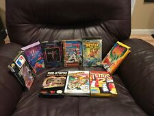 9 Boxed Nintendo Game Lot (Nintendo Entertainment System NES, 1993) Read!!!!