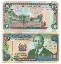 KENYA 10 SHILLINGS 1992 PICK 24 UNC