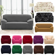 1 2 3 4 Seater Stretch Chair Cover Sofa Covers Elastic Protector Cover Slipcover