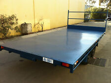 Table Top Flat bed Trailer TANDEM AXLE 4.5X2150 DECK 2T BRAND NEW OTHER SIZES AV