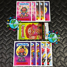 2020 GARBAGE PAIL KIDS LATE TO SCHOOL 10-CARD CLASS SUPERLATIVES SET +WRAPPER!