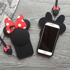 iPhone 7 - Mini Mouse Cartoon [SOFT rubber case - cute bendible case]