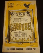 Carousel Programme 1964 Laundry, Dry-Cleaning and Laundrette Industries show