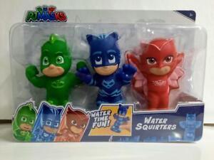 PJ MASKS Water Squirters Set Gekko Catboy Owlette