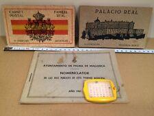 LOTE 30 POSTALES ANTIGUAS FAMILIA REAL ESPAÑOLA Y PALACIO REAL TARJETAS POSTALES