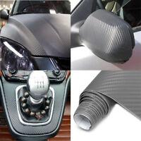 """Carbon Fiber Car Wrap Sheet Roll Film 3D Sticker Decal Sales  20""""x60"""" #am8"""