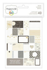 Project Life MUSIC Themed Cards 40-PACK scrapbooking 380254