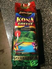 Hawaiian Gold Kona Gourmet Blend Coffee  Whole Bean 1Lb