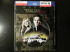 THE ITALIAN JOB Collectible Metal pack blu-ray+ultraviolet. STEELBOOK.