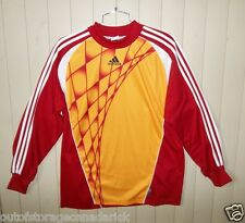 ADIDAS  Long Sleeve Red/Orange Jersey Men's Large