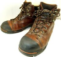 "TIMBERLAND PRO Men's ENDURANCE 6"" Soft Toe Work Boots 89631 Brown US 10.5 M"
