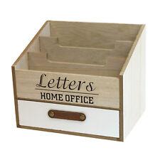 Schreibtischorganizer 3 Fächer 1 Schublade Briefablage Postablage Stifthalter