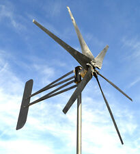UK 6 blade  Avenger wind turbine unbeaten £ and power output Generator