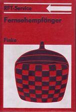 Fernsehempfänger/reich bebildertes Fachbuch/1984/RFT-Service/436 Bilder/1 Tafel
