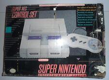 Retro Console SNES Super Nintendo Entertainment System PAL Boxed Con Scatola