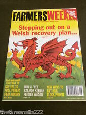 FARMERS WEEKLY - WELSH RECOVERY PLAN - JULY 20 2001