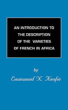 An Introduction to the Description of the Varieties of French in-ExLibrary