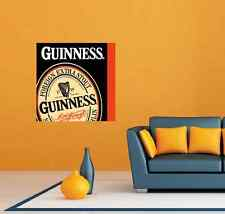 "Guinness Beer Room Bar Restaurant Wall Decor Sticker Decal 22""X22"""