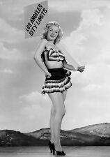Sexy Photo 8.25x11.75 Marilyn Monroe mini skirt promoted Los Angeles #068