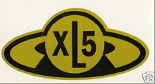 FIREBALL XL5 STICKER NEW! / Gerry Anderson XL 5 Joe90 Thunderbirds Scarlet