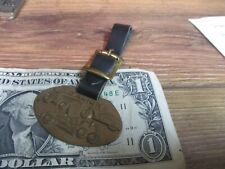 GALION WATCH FOB Scraper Tractor Earth Mover HEAVY Construction Pocket BRONZE