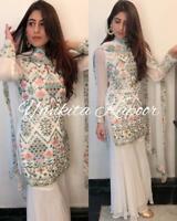 Kurti Sharara Palazzo Style Pakistani Salwar Kameez Suit Shalwar Anarkali Indian