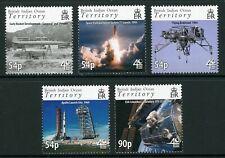 BIOT Scott #377-381 MNH Space Exploration CV$15+