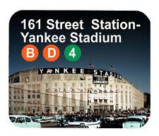 Item#209 Yankee Stadium Longines Subway SALE $8.99 Mouse Pad