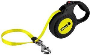 Kong Reflect Einziehbare Hundeleine Gurt-Rollleine für M & L Hunde ca. 5 m