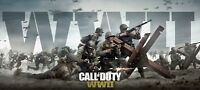 Call of Duty World War II Gaming Poster PS$  |Sizes A4 to A0 UK Seller| E239