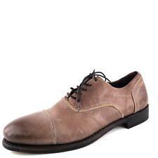 New Blackstone Dark Brown Leather Cap Toe Lace Up Oxfords Men's Size 10.5 M*