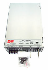 1pc DC Switching Power Supply SE-1500-27 27V 55.6A 1500W AC180~264V Mean Well MW