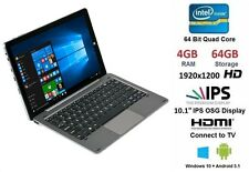 "Chuwi Hi10 PRO 10.1"" Tablet PC Con Teclado Windows 10 + Android 4GB Ram 64GB"