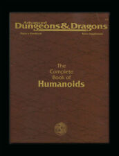 The Complete Book of Humanoids / DnD 2nd Edition