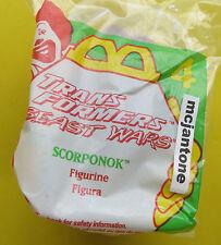 MIP McDonald's 1998 Transformers Beast Wars #4 SCORPONOK Scorpion CAKE TOPPER