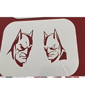 Superhero Reusable Mylar Stencil Face Painting/AirbrushTattoo Free Uk Postage