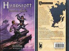 DAS SCHWARZE AUGE-DSA-Hundstage-Band 5:HUNDSFOTT-Abenteuer-Fantasy Roman-neu