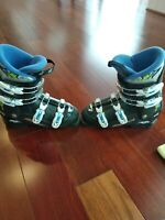 Very Clean Nordica GPTJ Youth Ski Boots Size 25.5 290mm downhill kids boys girls