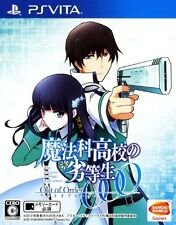 Used PS Vita Mahouka Koukou no Rettousei: Out of Order Japan Import F/S