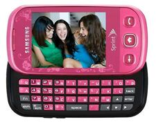 Samsung Seek-PINK-SLIDE-Sprint-Touchscreen-Cellphone-NEW CONDITION-LAST ONE !!