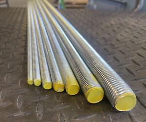 8,10,12,14,16,18,20,24 Threaded bar grade 8.8 High Tensile Zinc Rod Studding 1m
