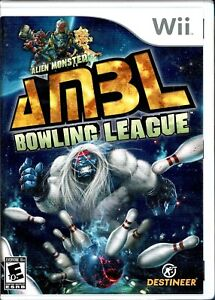 Alien Monster Bowling League AMBL Wii New Unleash Fury While Bowling As Monster