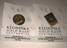 KLONDIKE GOLD RUSH CENTENNIAL TRAVEL PINs NIC